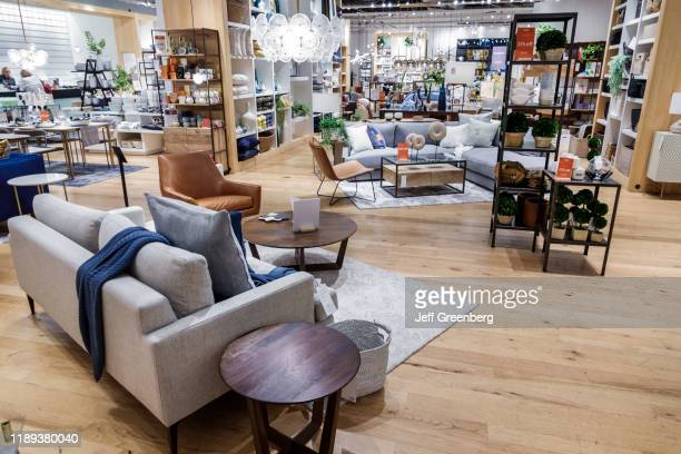The Shops at Midtown Miami West Elm furniture display