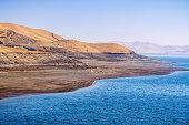 shoreline san luis reservoir an artificial