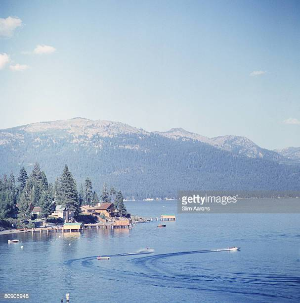 The shores of Lake Tahoe 1959