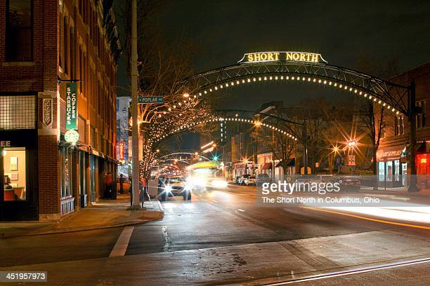 the short north - columbus ohio stock photos and pictures