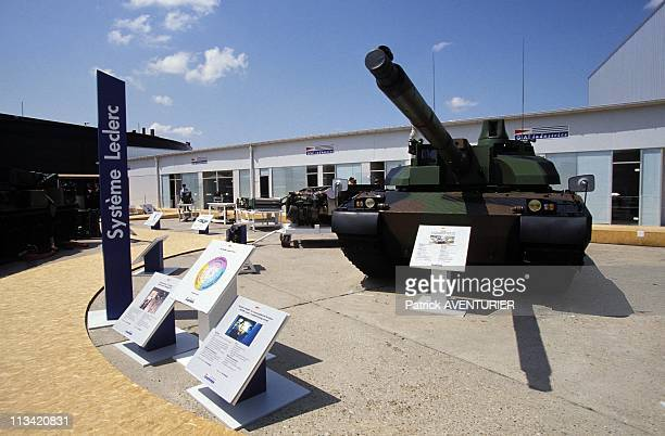 The Show 'Eurosatory' At Le Bourget On June 22nd, 1992 - New Leclerc Tank On June 22nd, 1992 Le Bourget, France