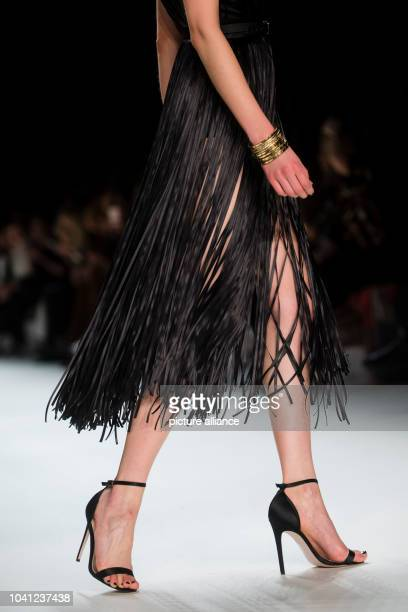 The show for the fashion label 'Dimitri' during the BerlinFashion Week in Berlin, Germany, 21 January 2016. The Aumun-Winter 2016/2017 collections...