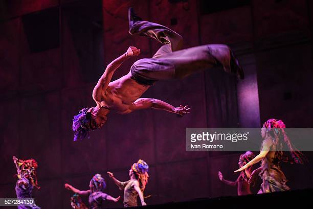 The show Notre Dame de Paris staged at Palasele Eboli Salerno from April 30 2016 to May 1 2016 The show is a popular work written by Luc Plamondon...
