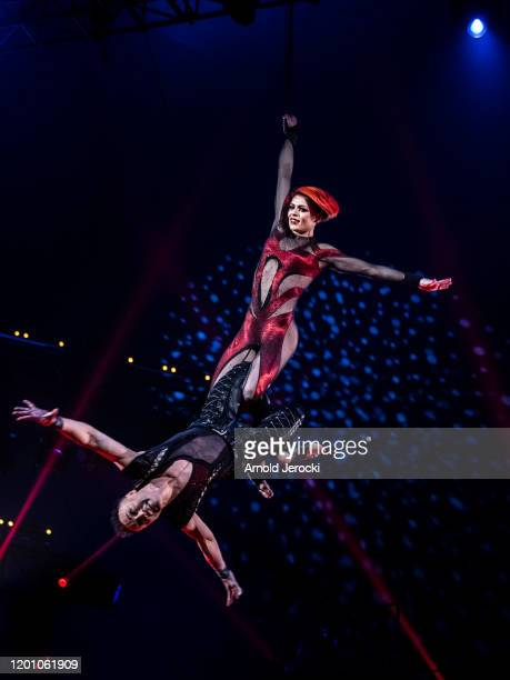 the show of the 44th International Circus Festival on January 21 2020 in Monaco Monaco