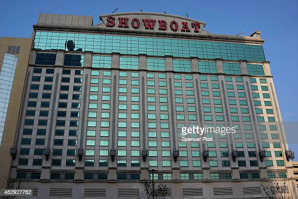 The Showboat Casino which is scheduled to close is viewed in Atlantic City on July 30 2014 in Atlantic City New Jersey Since January of 2014 four of...