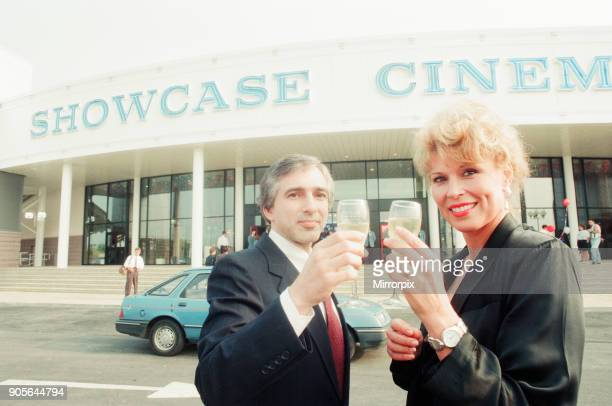 The Showcase Cinemas opened by actress Leslie Easterbrook best known for her role as Officer Debbie Callahan in the Police Academy movies Pictured...