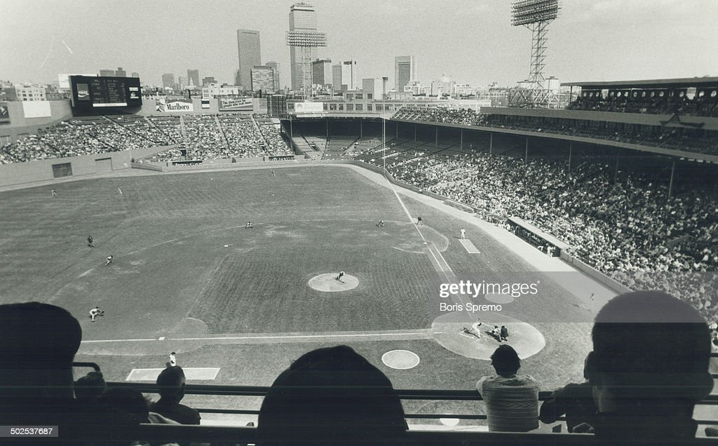 Fenway Park stadium; home of the Red Sox; was built in 1912 with seats for only 33;500 fans - but they're mostly a rowdy bunch and follow their team religiously.