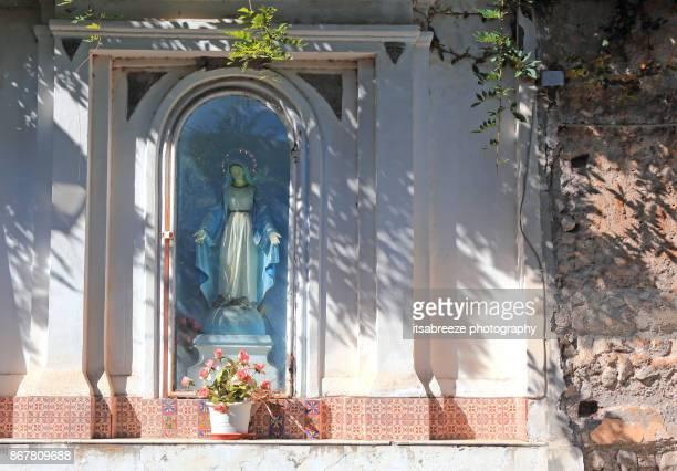 The shrine in the Marina Grande Sorrento Italy