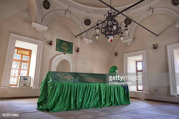the shrine of emir sultan in izmir. - emreturanphoto fotografías e imágenes de stock