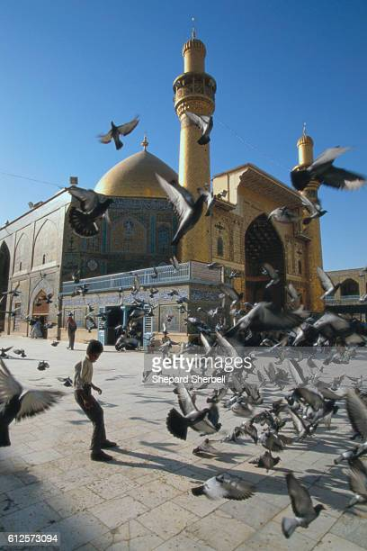 The Shrine of Hazrat Imam Ali is one of the holiest places for Shiite Muslims.