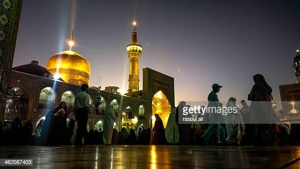 The shrine of Imam Ali ibn Musa Reza Iran .. Mashhad Photography Rasoul Ali