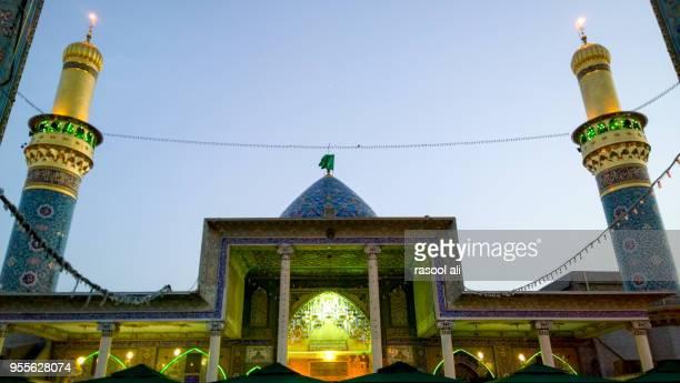 the shrine of syed mohammed sabba al dujail - minaret stockfoto's en -beelden