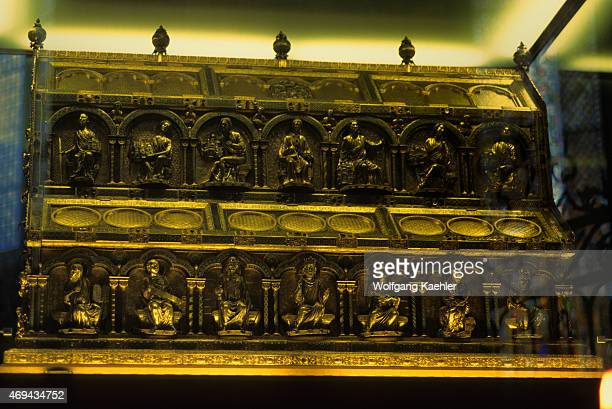 The Shrine of the Three Kings is a reliquary said to contain the bones of the Biblical Magi also known as the Three Kings or the Three Wise Men The...