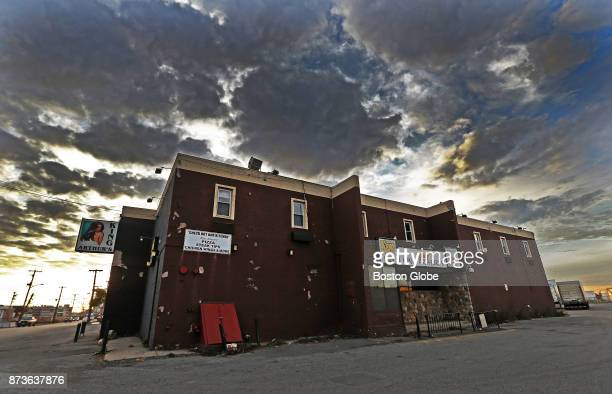 The shuttered King Arthur's Motel and Lounge in Chelsea MA is pictured on Nov 9 2017 The club closed three years ago after it accumulated a $300000...