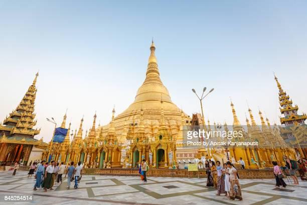 The Shwedagon Pagoda, Yangon, Myanmar