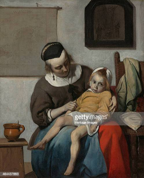 The Sick Child ca 1663 Found in the collection of the Rijksmuseum Amsterdam