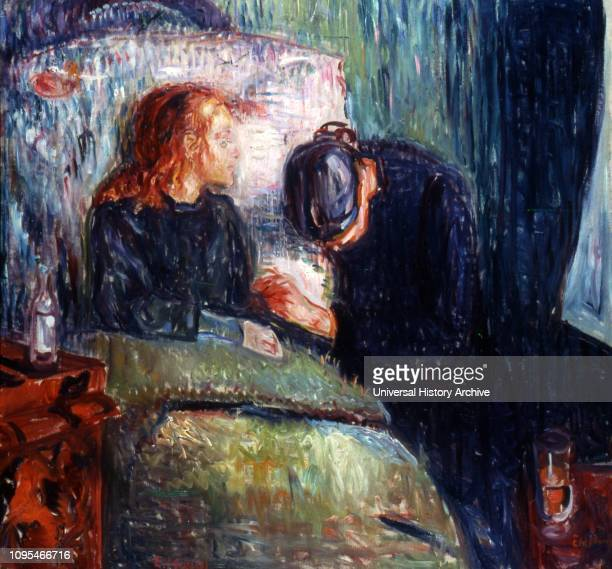 The Sick Child , one of six paintings and a number of lithographs, drypoints and etchings completed by the Norwegian artist Edvard Munch , between...