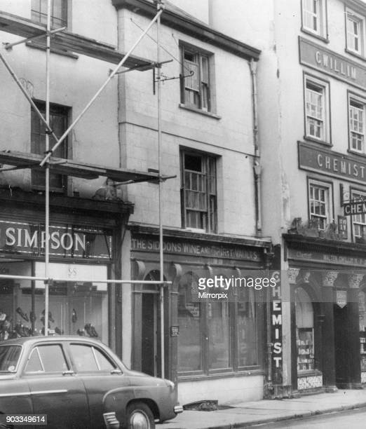 The Siddon Arms in Brecon a market town and community in Powys Mid Wales 24th February 1954 Aka The Sarah Siddons Inn