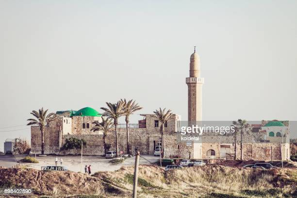 the sidna ali mosque - tel aviv stock pictures, royalty-free photos & images