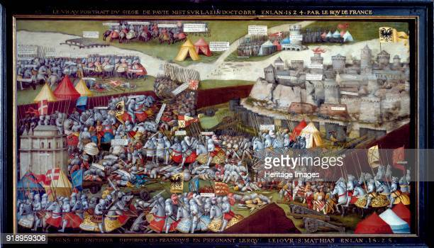 The Siege and Battle of Pavia 15251528 Dimensions height x width x depth 117 x 220 cm