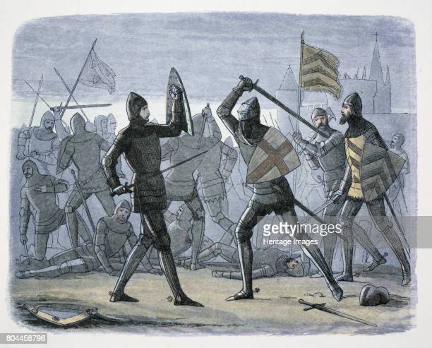 The Siege of Calais France 13461347 During the Hundred Years War Edward III of England laid siege to Calais which he regarded as an ideal base from...