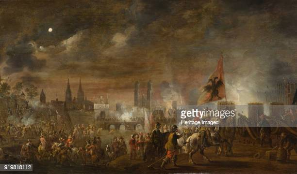The Siege of Magdeburg 1650 Found in the collection of Nationalmuseum Stockholm