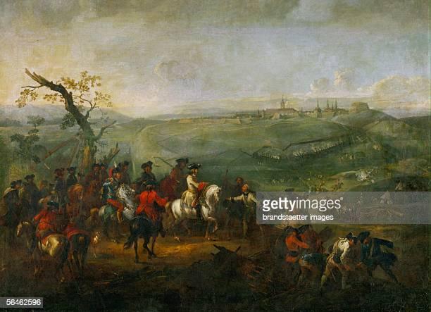 The siege of Prague during the War of Austrian Succession. [Die Belagerung Prags waehrend dem oesterreichischen Erbfolgekrieg.]