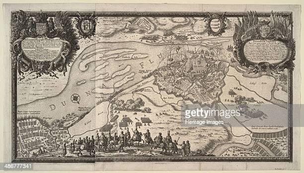The Siege of Riga by the Russian Army under Tsar Alexei Mikhailovich in 1656 1656 Artist Pérelle Adam