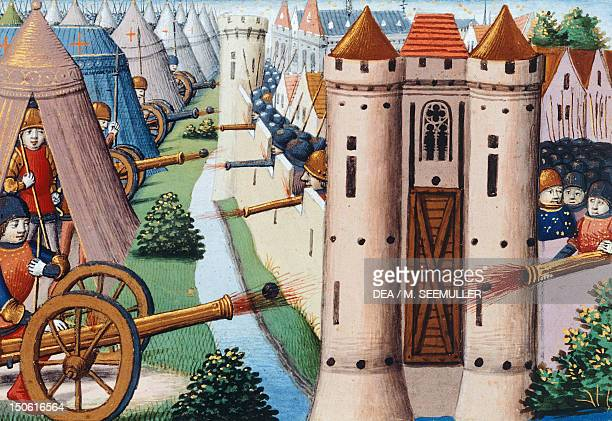 The siege of Rouen in 1484 France 15th Century
