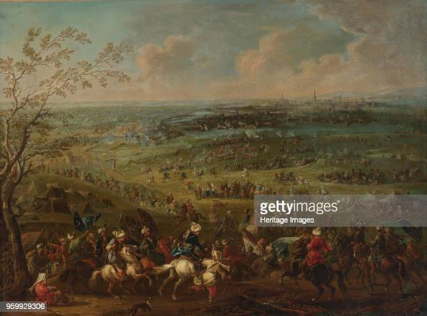 The Siege of Vienna by Turkish army Private Collection