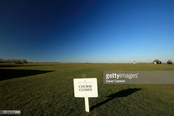 The sign as you walk towards the first tee at the host venue for the 2020 Open Championship due to be held in July 2020 shows that the course is...