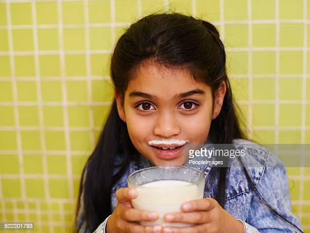 Le signe d'un bon Milk-shake