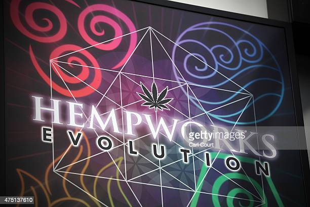 The sign of a shop selling legal highs and smoking paraphernalia is pictured on May 29 2015 in Brighton England There has been a significant rise in...