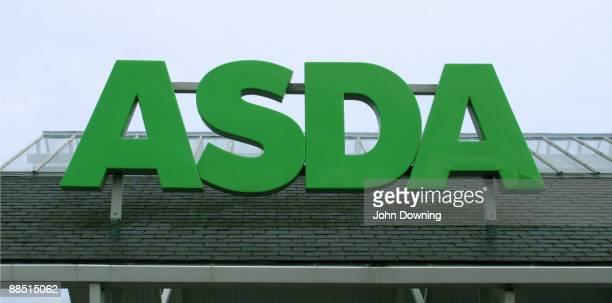 The sign over an Asda supermarket in Southgate London circa 2005