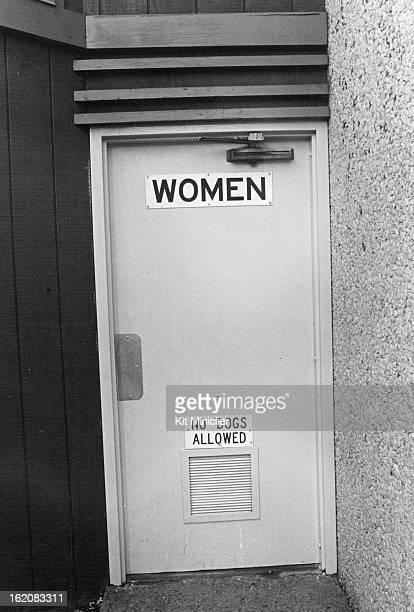 APR 16 1980 The Sign Tells It All There is a similar sign at the bottom of the door to the men's rest room at the rest stop on Interstate 70 at...