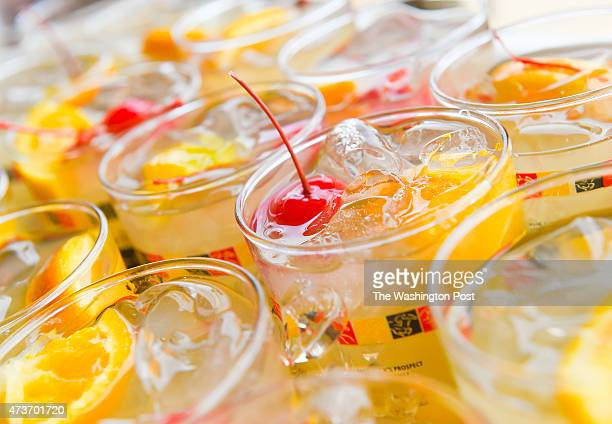 The signature drink of the Preakness is the BlackEyed Susan during the 140th running of the Preakness Stakes on May 16 2015 in Baltimore MD