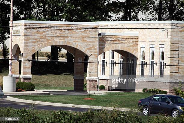 The Sikh Temple of Wisconsin where at least one gunman fired upon people at a service is seen on August 2012 Oak Creek Wisconsin At least six people...
