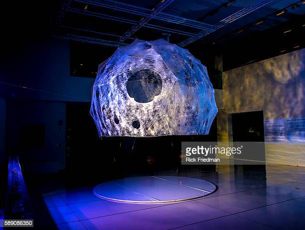 The Silk Pavilion designed by Professor Neri Oxman of the Massachusetts Institute of Technology Media Lab's Mediated Matter Group at the Media Lab in...