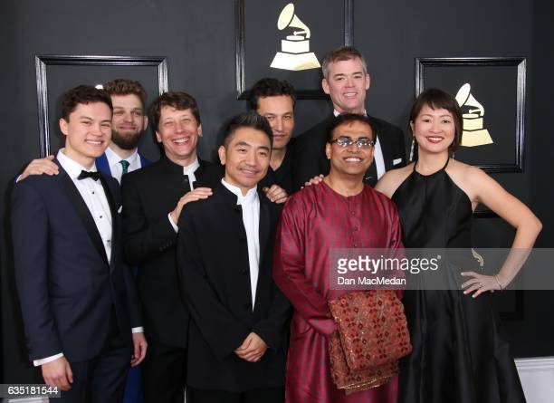 The Silk Road Ensemble arrives at The 59th GRAMMY Awards at Staples Center on February 12 2017 in Los Angeles California
