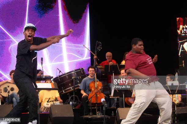 The Silkroad Project presents Night at the Caravanserai Tales of Wonder at Central Park Summerstage on Tuesday night June 7 2011This imageCharles Lil...
