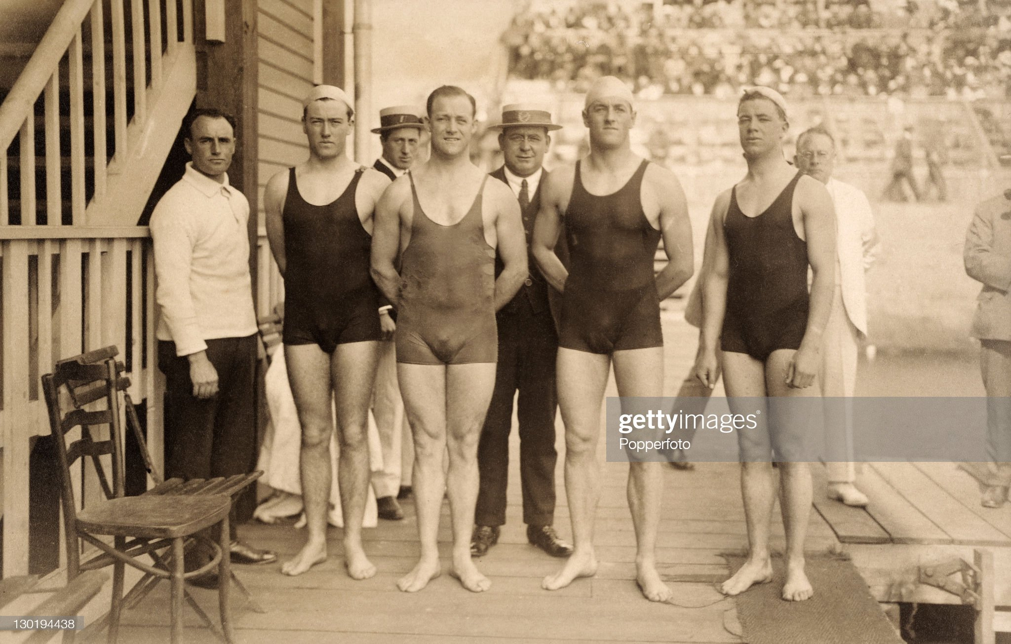 1920 Olympic Games - Australia Freestyle Relay Team : Fotografía de noticias