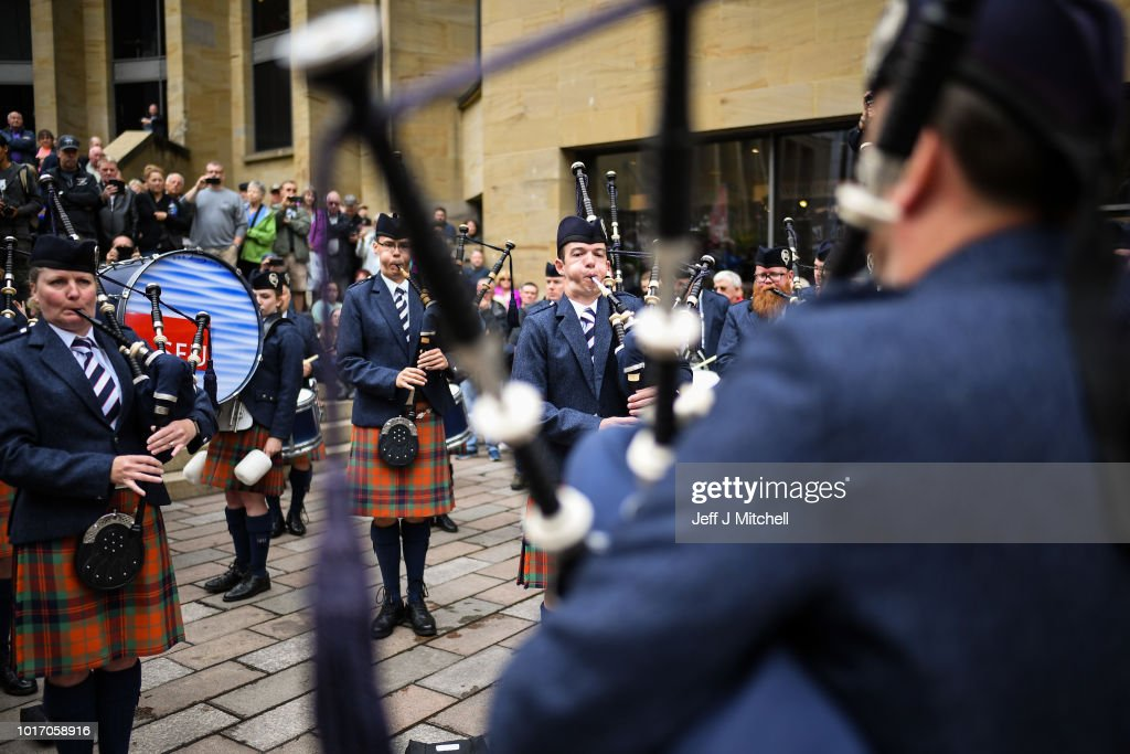 International Piping Festival Takes Place In Glasgow