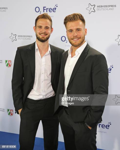 The Simple Club attends the Webvideopreis Deutschland 2017 at ISS Dome on June 1 2017 in Duesseldorf Germany