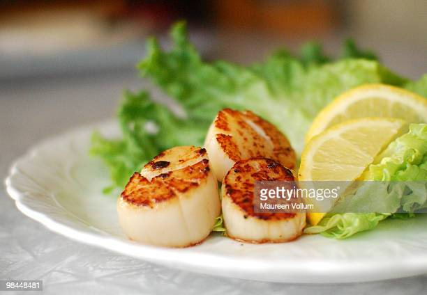 the simple lunch - seared stock photos and pictures