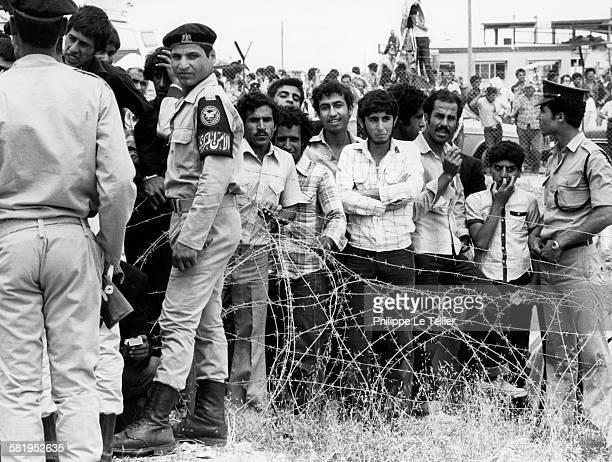 The Sinai was returned to Egypt Sinai Egypt 26 april 1982