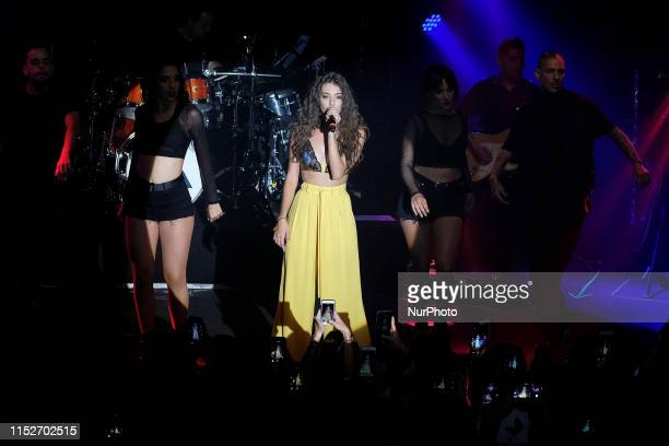 the singer Ana Guerra performs in the Sala But on June 28 2019 in Madrid Spain