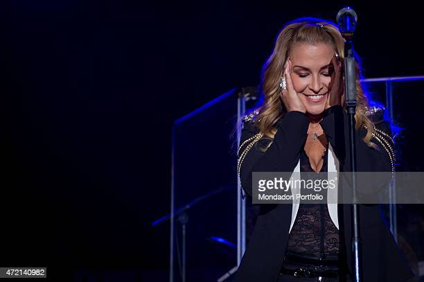 'The singer Anastacia performing at Fabrique in Milan Milan Italy 27th October 2014 '