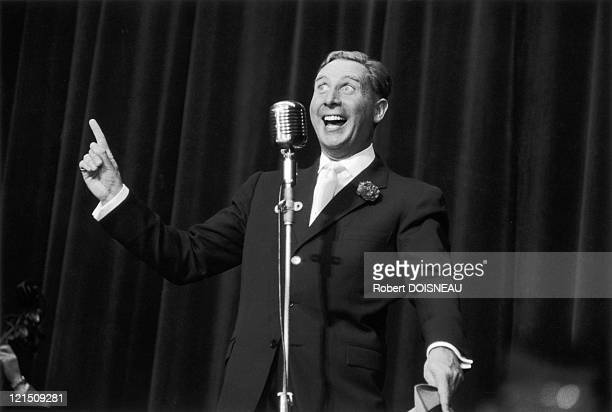 The Singer Charles Trenet In October 1955