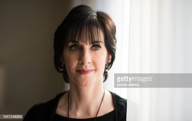 The singer Enya poses in a hotel inBerlin,Germany, 29 October 2015. The Irish singer's new album 'Dark Sky Island' comes out on 20 November 2015....
