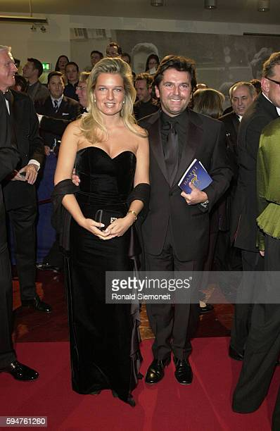 The singer from 'Modern Talking' Thomas Anders and his wife Claudia Hess